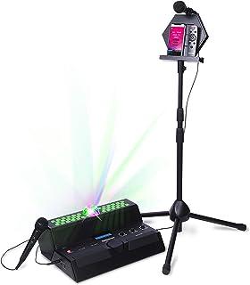 Singsation Karaoke Machine – Main Stage All-In-One Premium Karaoke Party System..
