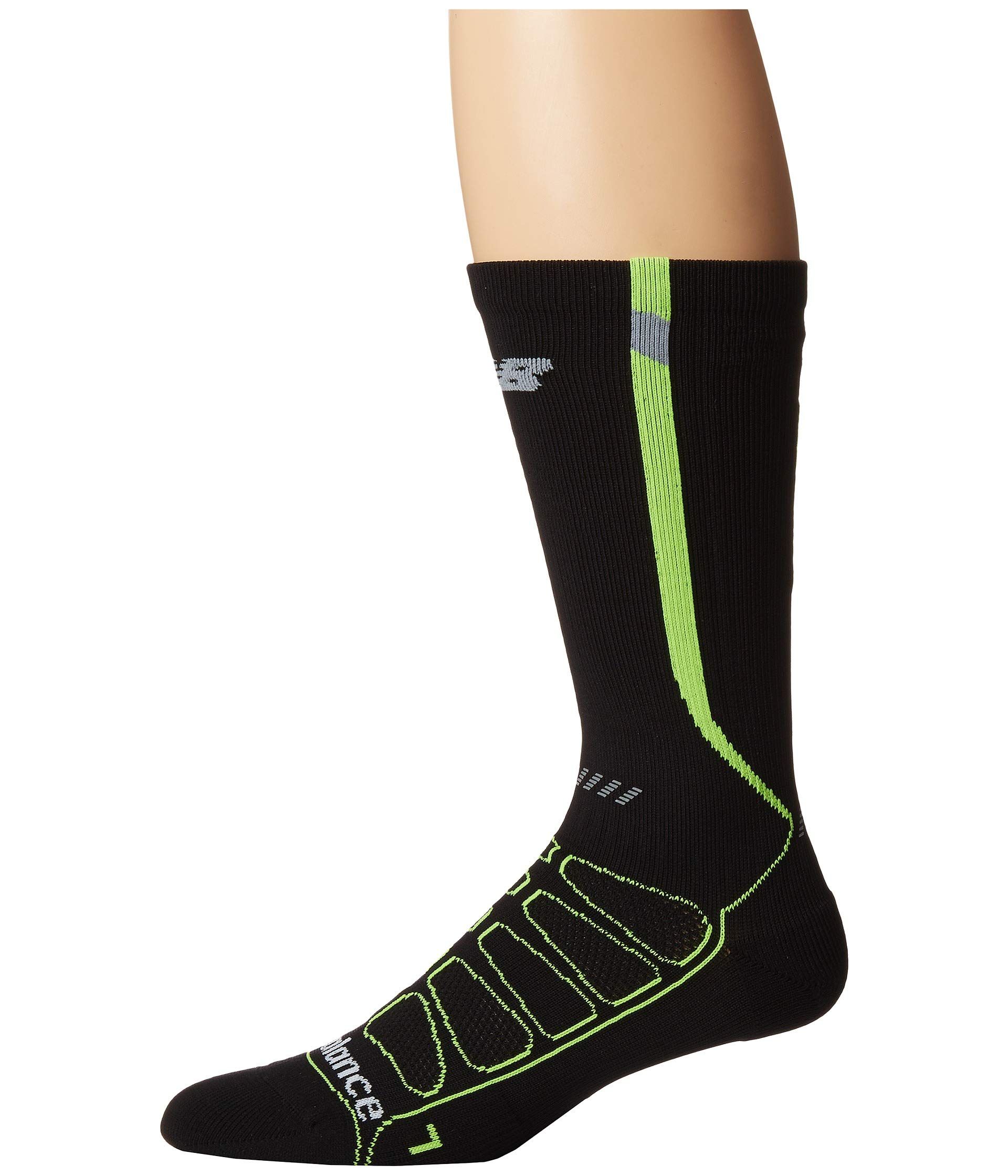 Socks Running Calf yellow Compression The Over New Black Reflective Balance wXYz0Aqt