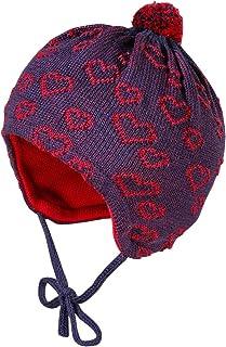 maximo Mit Pompon Bindeband Und Herzchenstruktur Sombrero para Bebés