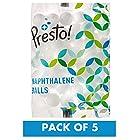 Amazon Brand - Presto! Naphthalene Balls - 200 g (Pack of 5)