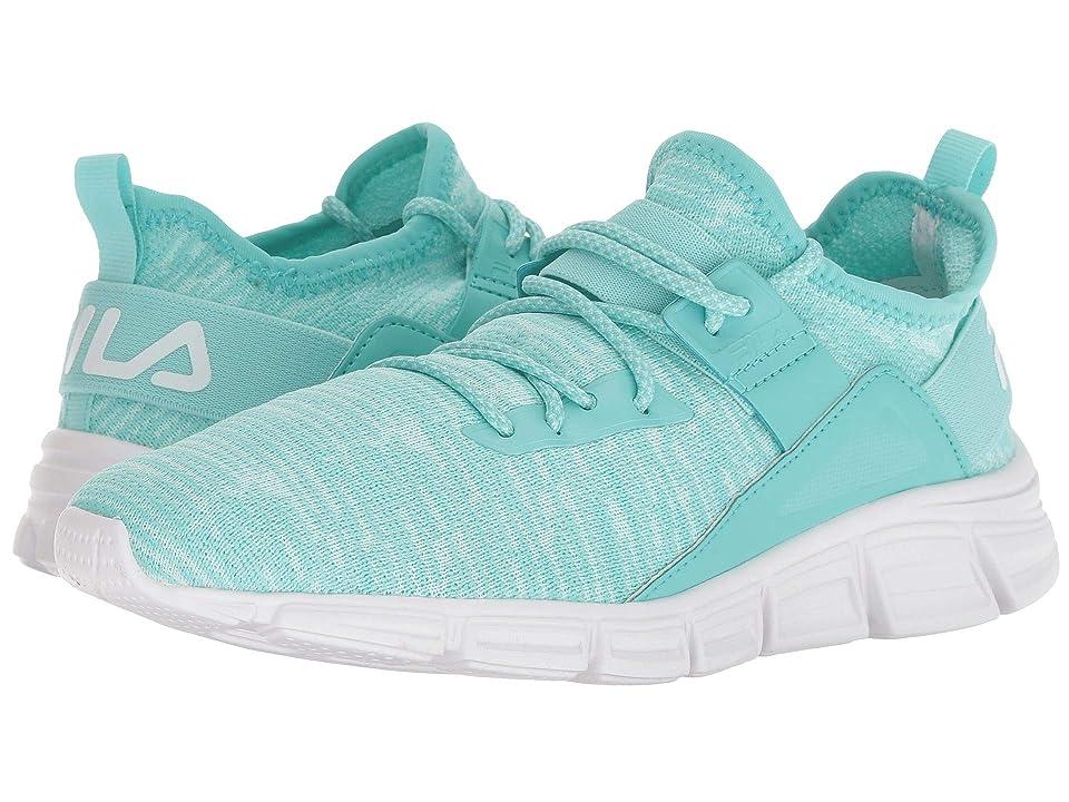 Fila Lombardi Running (Aruba Blue/Fashion Aqua/White) Women