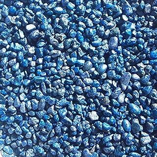Exotic Mini 4-6mm Beach Pebble Stone Rocks/Coated Polished Pebbles - Terrarium, Succulents (Outdoor & Indoor), Home/Garden, Decoration (1.65lbs Jar)