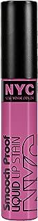 N.Y.C. New York Color Smooch Proof Liquid Lip Stain, Perpetually Mauve, 0.24 Fluid Ounce