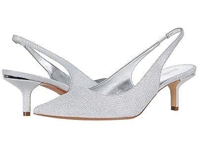 MICHAEL Michael Kors Page Sling (Silver) Women