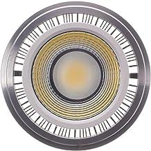 EMGQ Energiebesparende gloeilamp LED-bollen Spotlight 9W LED COB Spotlight GU10 G53 AR111 COB AR111 85-265V (Size : Natura...