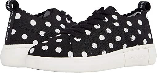 Black/Optic White Dots