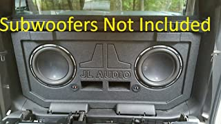 Chevy Avalanche Escalade EXT Midgate Replace JL Audio Subwoofer Speaker Box Enclosure