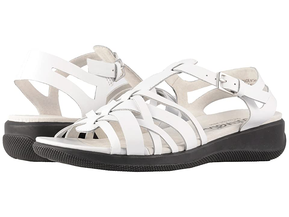 SoftWalk Taft (White Soft Leather) Women