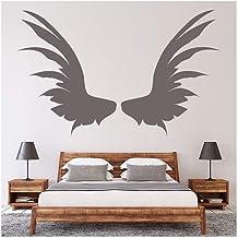 Wandtattoo Wandaufkleber Wandsticker Schlafzimmer Engelsflügel Schutzengel W3108