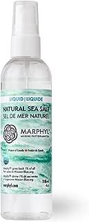 Liquid Natural Sea Salt - Organic - Low Sodium - Manually harvested in Vancouver Island, Canada