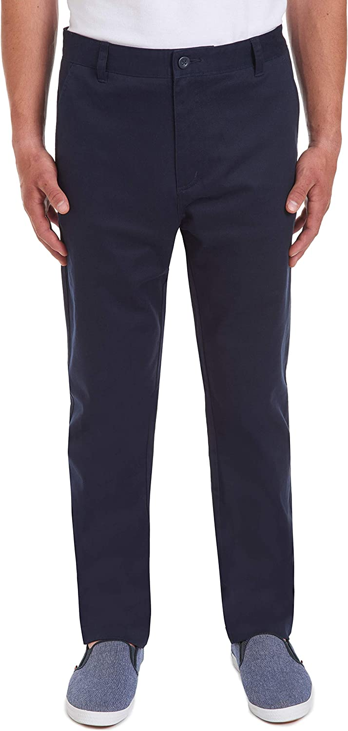 Chaps Max 69% OFF Men's Young Uniform Twill Flat Front Indianapolis Mall Pant