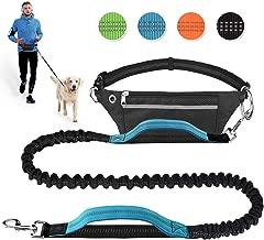 Elastische und reflektierende Laufleine im Set Arkmiido Jogging Hundeleine, Verstellbarem H/üftgurt /& Dehnbare Leine,Jogging Hundeleine f/ür gro/ße und mittelgro/ße Hunde