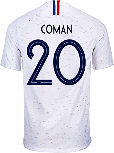 Nike Varane   4France Away Maillot de Football Coupe du Monde de Football Russie 2018