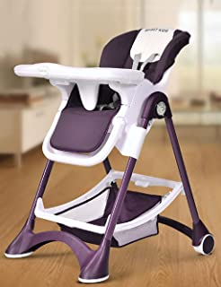 XWZ Baby Chairs Baby Dining Chair Multi-functional Children s Chairs Portable Foldable Seat Baby Eating Table Baby Dining Chair Various Color Purple