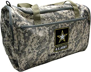 Us Military Official Licensed Duffle Gym Luggage Bag (US Army Camo)