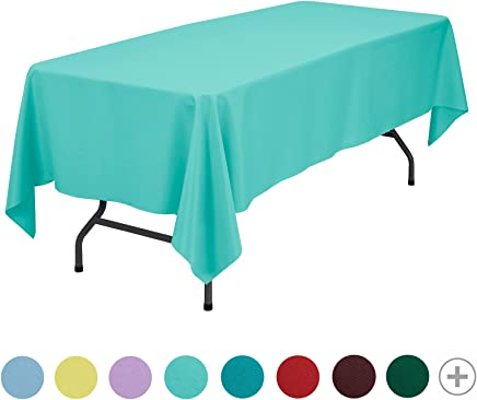50373 Motif Chevron Unique Party Nappe Turquoise Plastique 2,74 x 1,37 m