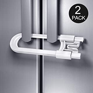 [Upgrade] BYETOO Sliding Cabinet Locks Child Safety,Great for Baby Proofing for Both Cabinet Knob and Cabinet Handle,Proof...