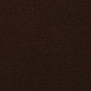 Fabric Merchants Chocolate Brown T-Knit Ribbing