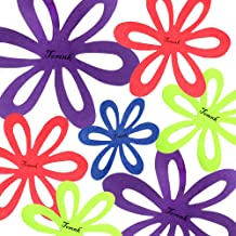 TOMNK 16PCS Flower Pot & Pan Protectors Pad - 4 Sizes, Felt Pan Pot and Dish Scratch Protector, Anti-Slip Divider Pads