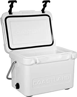Coastland Bay Series Coolers Premium Everyday Use Insulated Rotomolded Cooler Ice Chest available in 15-Quart, 20-Quart & ...