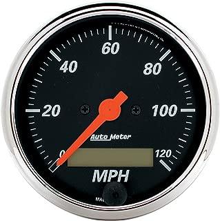 AUTO METER 1487 Designer Black Electric Programmable Speedometer