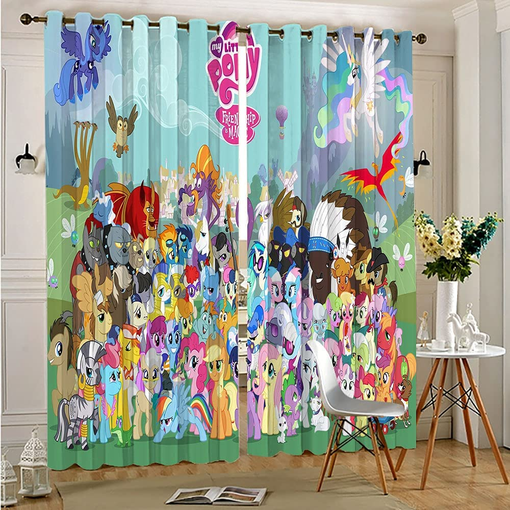 Full Covering Privacy Room Divider Drapery Little Horse F Max 63% OFF My All High quality new