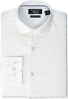 Men's Slim Fit Button-Down Collar Fashion Dress Shirt