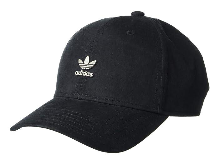 adidas Originals  Originals Metal Structured Cap (Black/Antique Silver) Caps