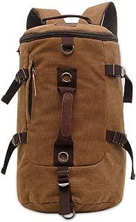 FANDARE 登山バッグ メンズリュックサック デイパック バックパック 旅行バッグ アウトドア 旅行 ハイキング クライミング バックパック 3way仕様 大容量 キャンバス