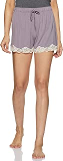 Amante Sleepwear Lace Touch Lounge Shorts