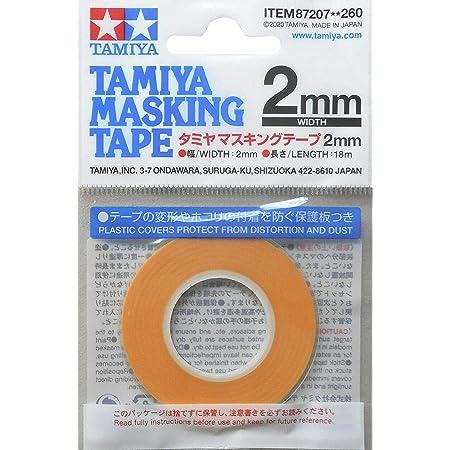 タミヤ メイクアップ材シリーズ マスキング No.207 マスキングテープ 2mm 87207