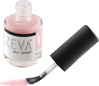 ZEVA Nail Guard - Professional 7 Free Vegan Finger & Toe Nail Strengthening Polish - No Chip Clear Matte Coat - Nail Hardener for Natural Fingernail & Toenail Growth for Men & Women