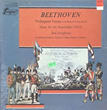 Beethoven, Westphalian Symphony Orchestra, Hubert Reichert - Wellington's Victory (Or The Battle Of Victoria), Op. 91 / Music Fot The Ritterballett, WoO1 / Jena Symphony SS LP