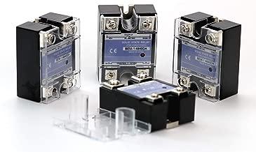 14840DA Solid State Relay 3-32V DC to 24-480V AC 40A Output Single Phase SSR (14840DA-4PCS)