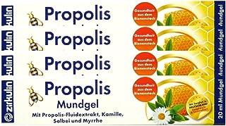 4x ZIRKULIN Propolis Mundgel 20 ml PZN: 07112280