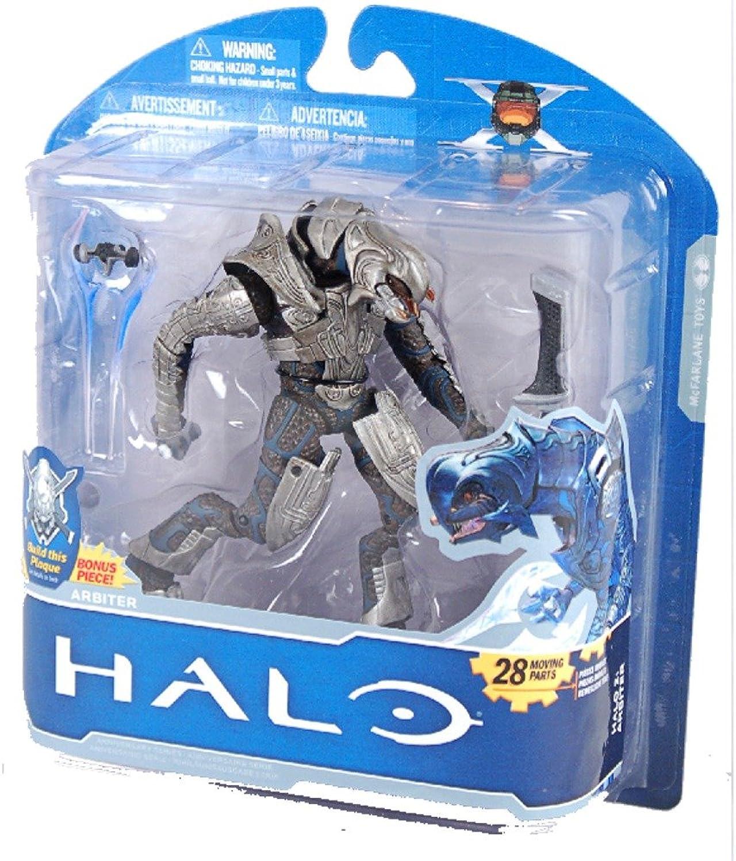 excelentes precios Halo McFarlane Juguetes 10th Anniversary Series 1 Acción Figura - - - Arbiter Halo 2  venta directa de fábrica