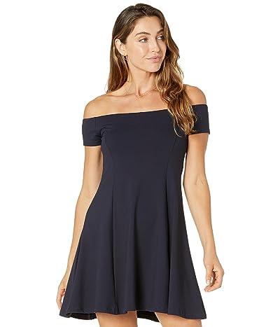 Susana Monaco Off Shoulder A-Line Dress