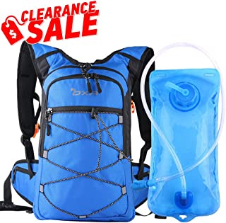OXA Hydration Backpack with 2L Water Bladder, Thermal Insulation Layer Keeps Water Cool (up to 4 Hours), for Hiking, Running, Cycling, Climbing