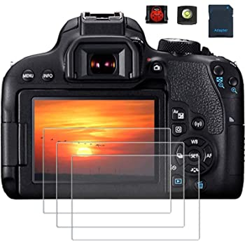 VULCAN Glass Screen Protector for Canon EOS 1300D LCD Tough Anti Scratch Cover