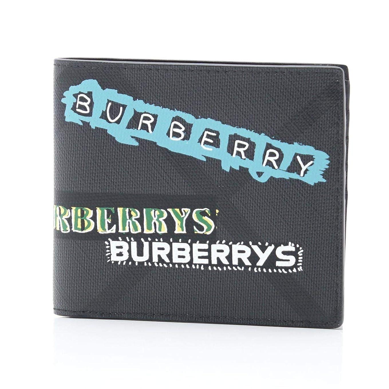 陽気な中庭レプリカ(バーバリー) BURBERRY 2つ折り 財布 タグプリント ロンドンチェック インターナショナル バイフォールドウォレット [並行輸入品]