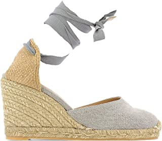 CASTANER Luxury Fashion Womens 020868105PLOMO Grey Wedges   Spring Summer 19