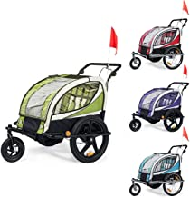 Attache Embrayage Remorque Enfant Jogger 2en1 Vélo Convertible Transport Neuf