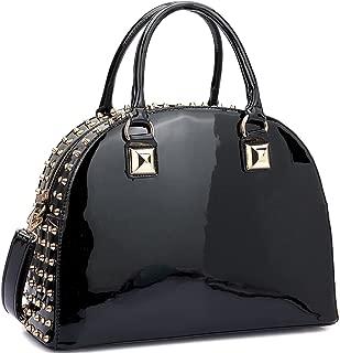 Best black studded designer bag Reviews