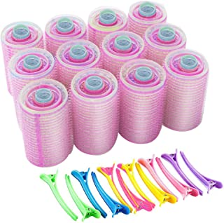 60 Pack Self Grip Hair Rollers Set Large Medium Small Vented Hair Holding Rollers Salon Hairdressing Curlers Bangs Set Duc...