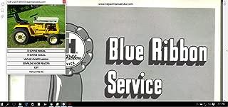 Cub Cadet Repair Manuals 72-147 Service Manual 72, 73,104, 105,107,107 124, 125,126, 127, 147