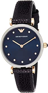 Emporio Armani Wrist Watch For Women, Blue, AR1989