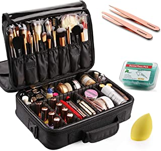 Best black makeup case Reviews