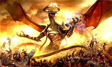 HiddenSupplies.com Bolas Dragon Magic The Gathering Playmat TCG Gaming Mat 24 x 14 Inch