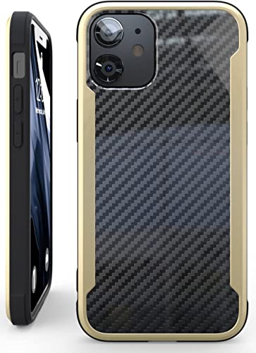 Nicexx Designed for iPhone 12 Case/Designed for iPhone 12 Pro Case with Carbon Fiber Pattern, 12ft. Drop Tested, Wire...