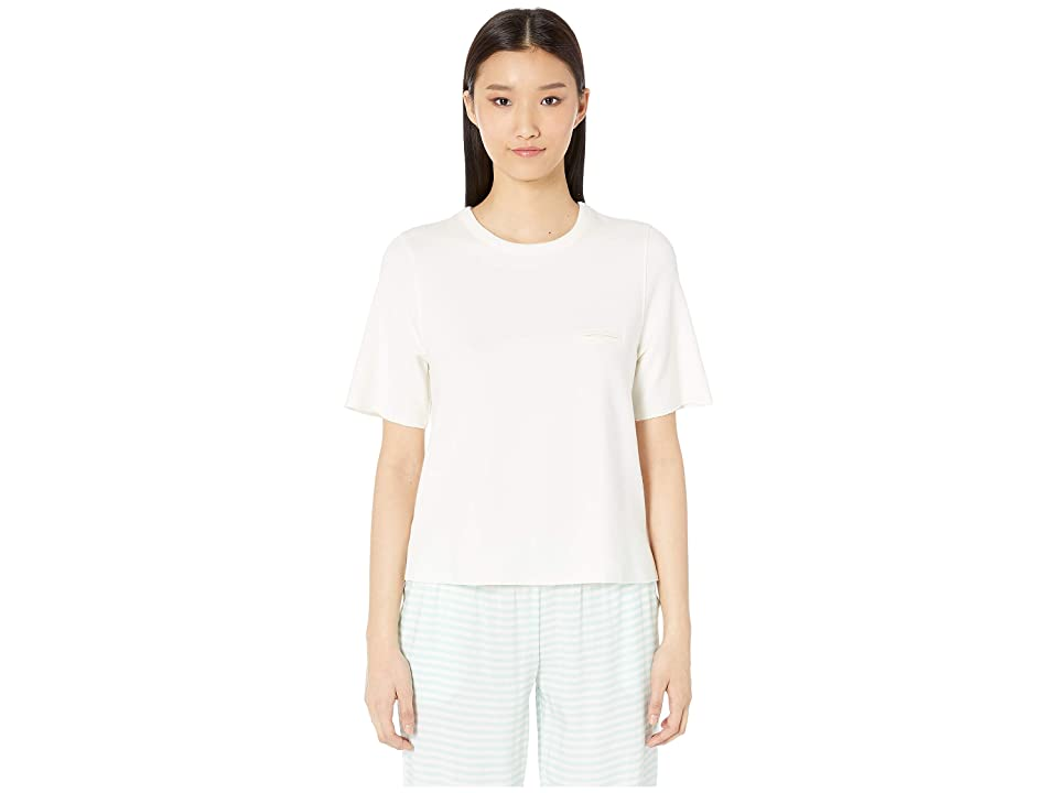 Eberjey Blake The Patch Pocket Top (Coconut Milk) Women